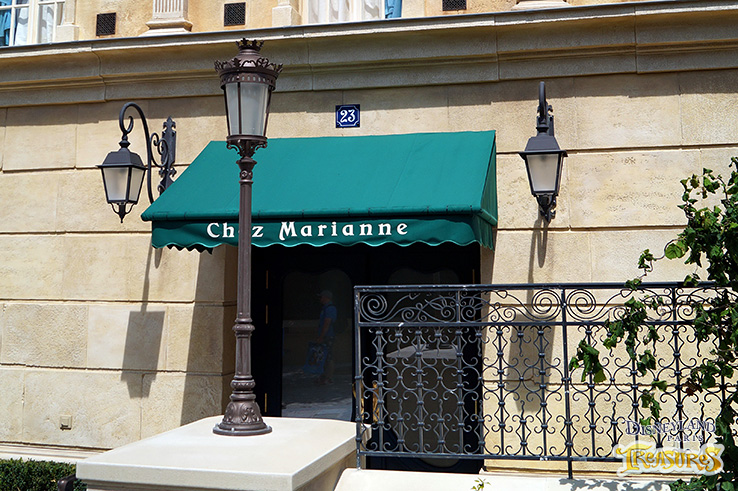 Chez Marianne is the new boutique of Disneyland Paris Ratatouille land