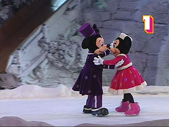 Christmas Season exclusive show Mickey's Winter Wonderland
