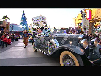 Disney's Stars'n'Cars parade at Walt Disney Studios Park