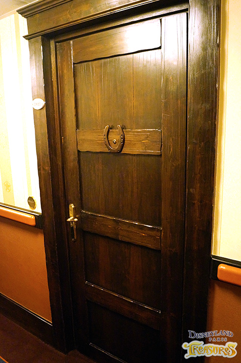 Hotel Cheyenne - the door to Sheriff Woody's Texas room