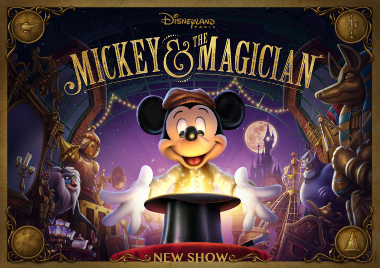 Mickey and the Magician - An incredible show with amazing illusions